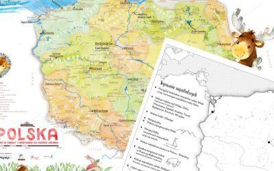 Wyzwanie geograficzne dla 5-7-latków: pliki do pobrania
